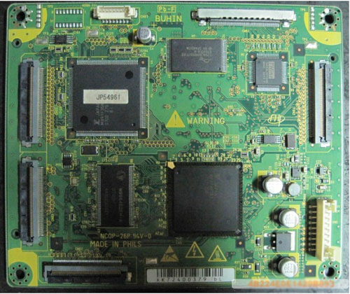 Hitachi JP54961 Main Logic CTRL Board
