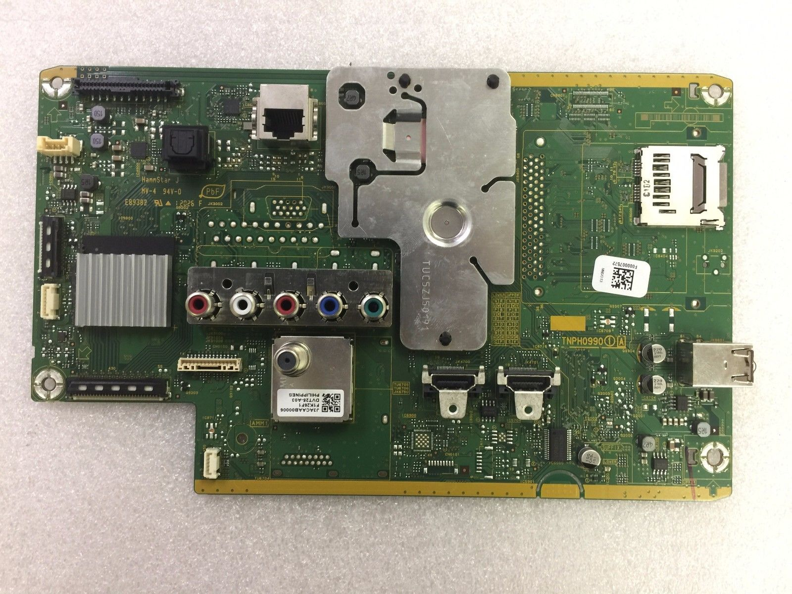 New Panasonic TXN/A1RHUUS (TNPH0990) 1 A Board for TC-P50XT500