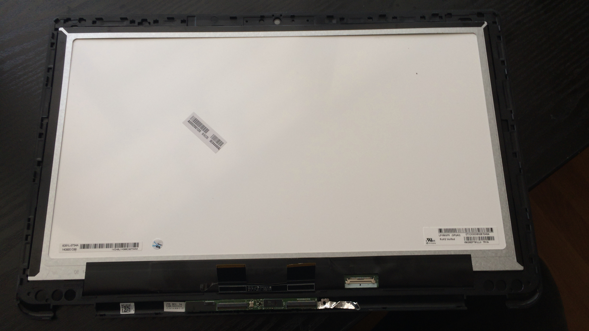 New Toshiba Satellite Radius P55W-B5220 P55W-B Series Touch Screen Panel Display assembly