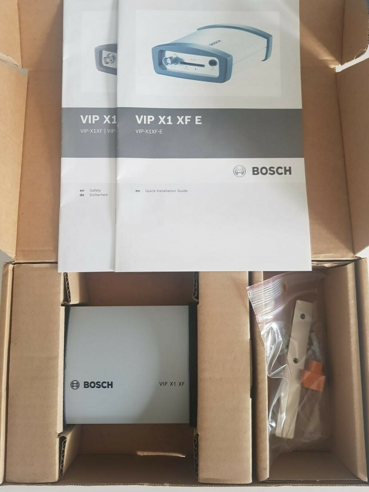 Bosch VIP-X1XF-E 1 Single Channel Encoder, H.264 Dual-Streaming