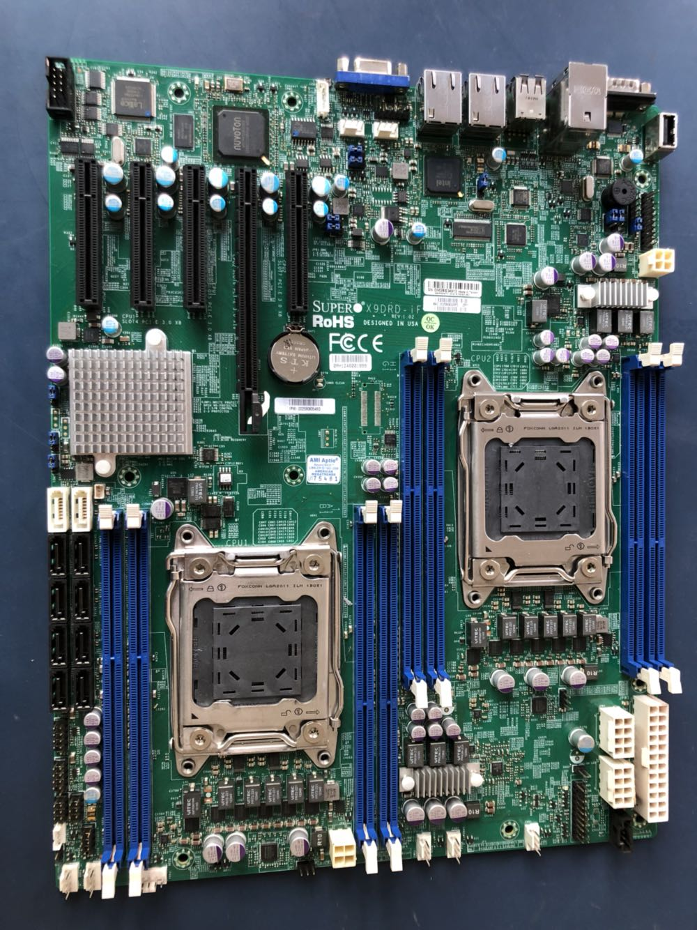 Super Micro X9DRD-iF LGA 2011 Server Motherboard w Dual Xeon E5-2603 Processors