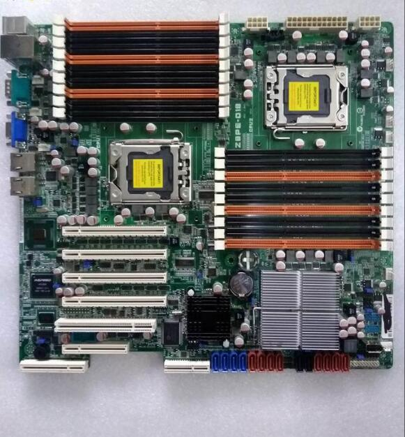 ASUS Z8PE-D18 Dual Motherboard LGA1366 Intel 5520 VGA COM With I/O Shield