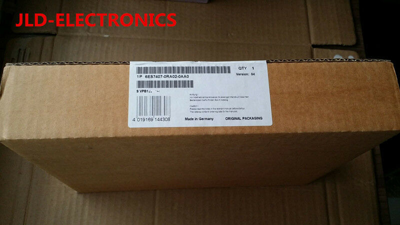 Siemens 6ES7407-0RA02-0AA0 6ES7 407-0RA02-0AA0 NEW SEALED