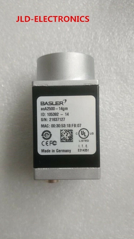 BASLER acA2500-14gm tested and used in good condition