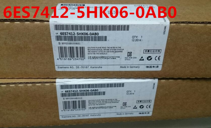 SIEMENS 6ES7412-5HK06-0AB0 6ES7 412-5HK06-0AB0 NEW SEALED