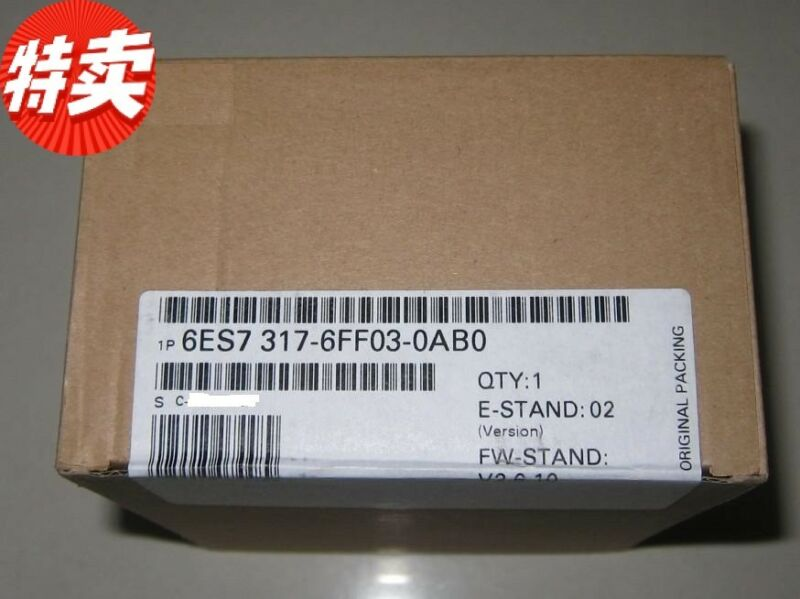 SIEMENS 6ES7317-6FF03-0AB0 6ES7 317-6FF03-0AB0 NEW SEALED