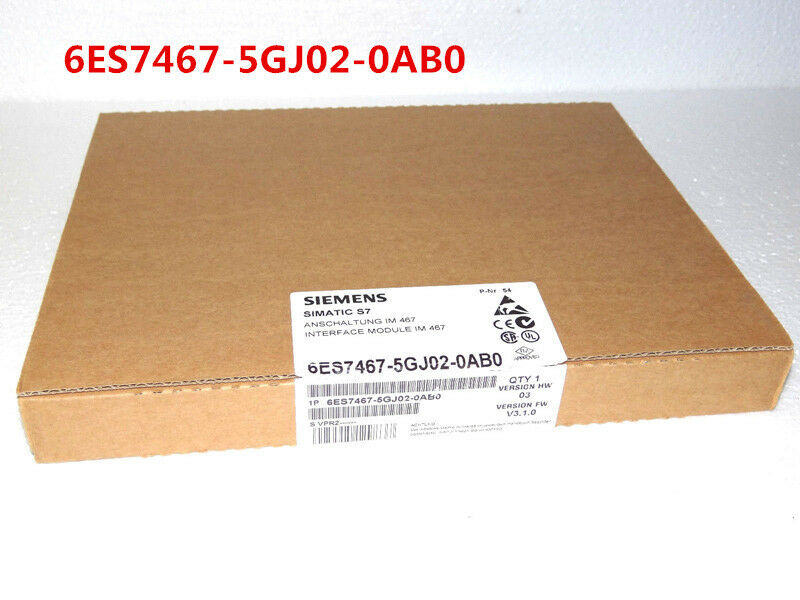 SIEMENS 6ES7467-5GJ02-0AB0 6ES7 467-5GJ02-0AB0 NEW SEALED
