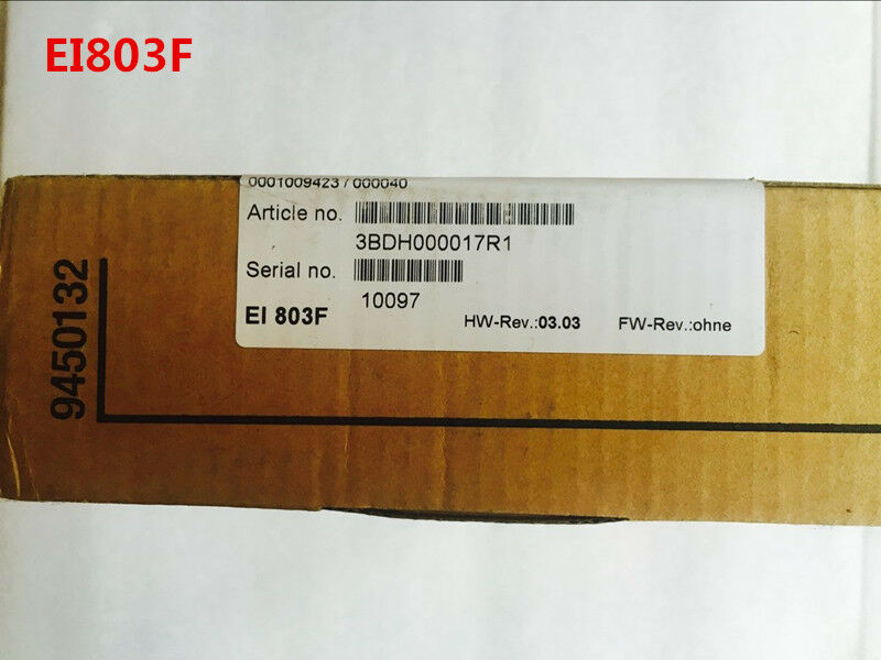 ABB EI803F 3BDH000017R1 NEW SEALED