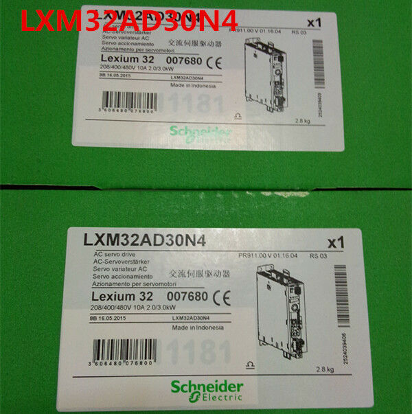 SCHNEIDER LXM32AD30N4 NEW SEALED