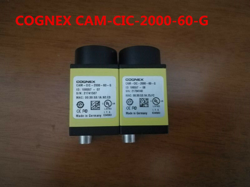 COGNEX CAM-CIC-2000-60-G used and tested