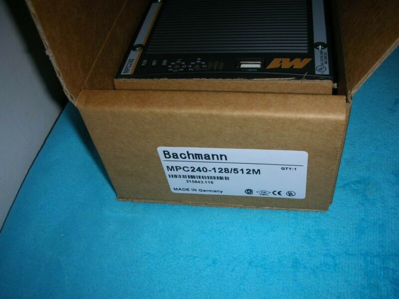 Bachmann MPC240-128/512M NEW SEALED