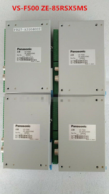 Panasonic VS-F500 ZE-85RSX5MS used and tested