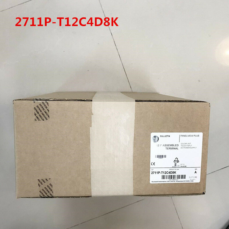 Allen Bradley 2711P-T12C4D8K 2711PT12C4D8K NEW SEALED