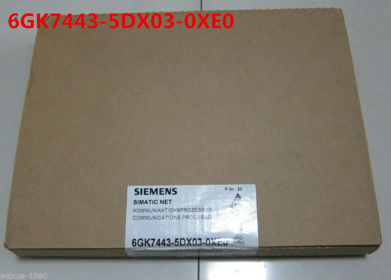 SIEMENS 6GK7443-5DX03-0XE0 6GK7443-5DX03-0XE0 NEW SEALED