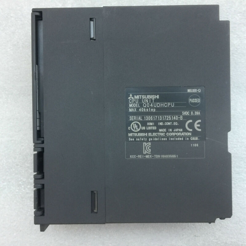 Mitsubishi Q04UDHCPU used and tested 1pcs