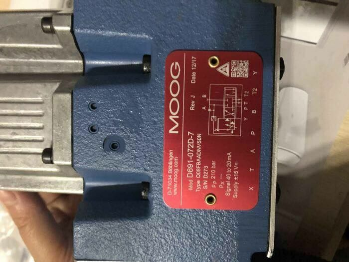 MOOG D691-072D-7 D691072D7 New 1PCS