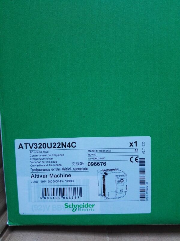 SCHNEIDER ATV320U22N4C NEW SEALED1PCS