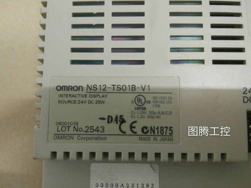 OMRON NS12-TS01B-V1 Used And Tested 1Pcs