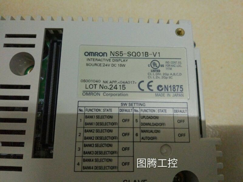 OMR NS5-SQ01B-V1 used and tested 1PCS