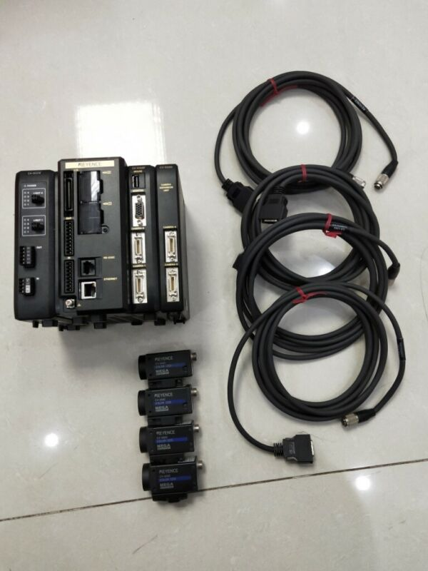 KEYENCE CV-X150F CV-200C CA-CN3 Used and Tested 1Sets