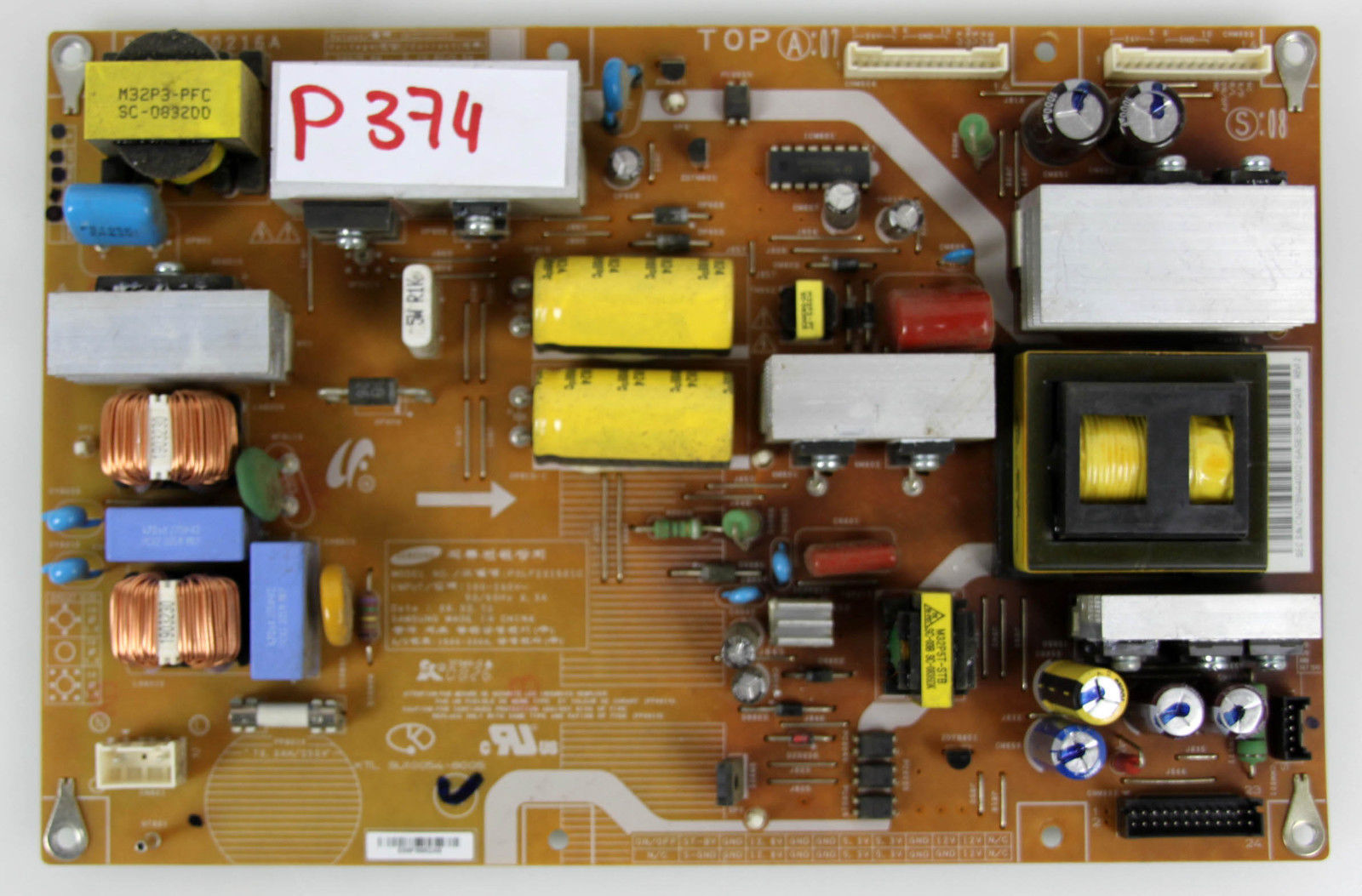SAMSUNG BN44-00216A POWER SUPPLY BOARD FOR LN37A550 AND OTHER