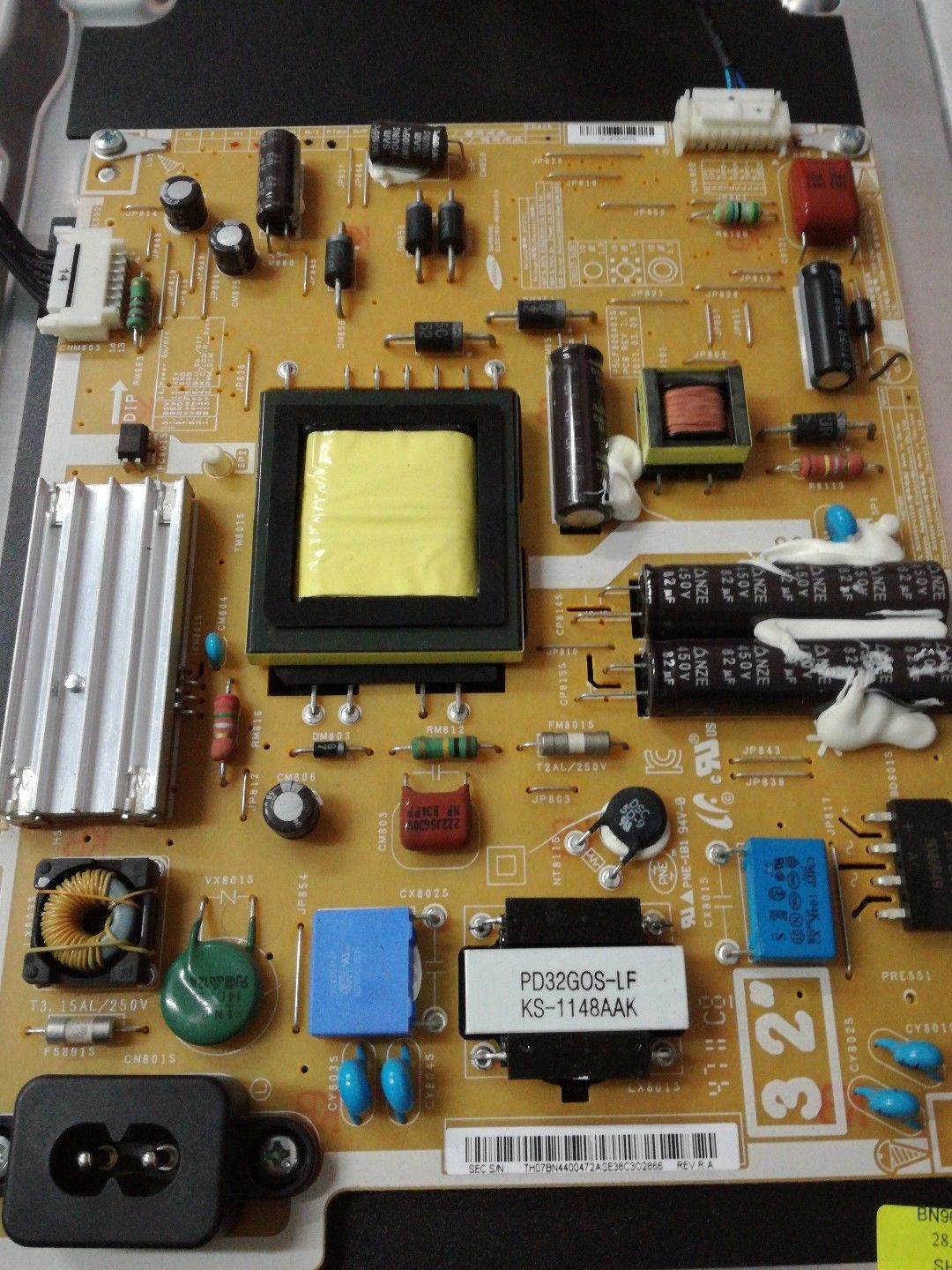 BN44-00472A Samsung Power Supply Board BN44-00472B tested