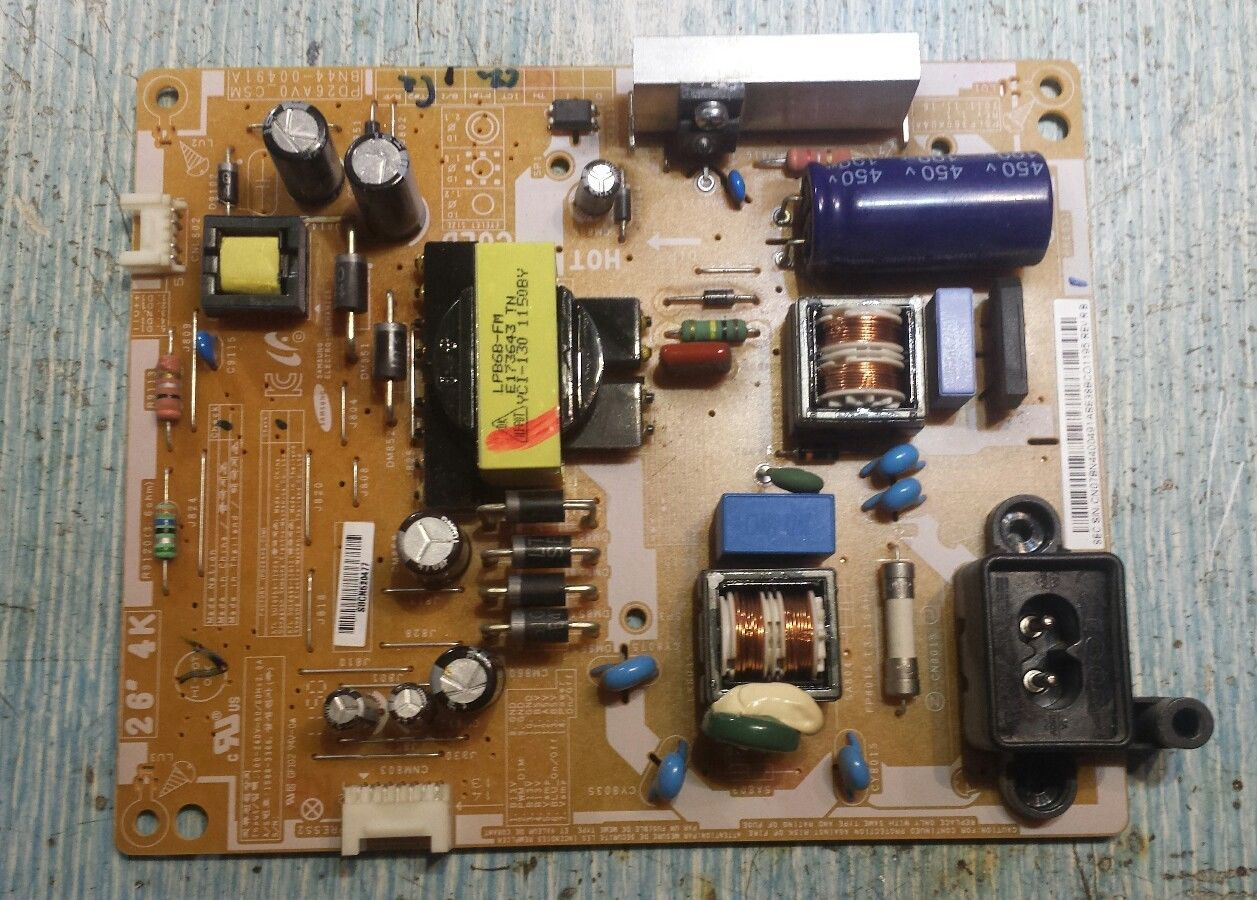 SAMSUNG BN44-00491A POWER SUPPLY BOARD FOR UN26EH4000 AND OTHER