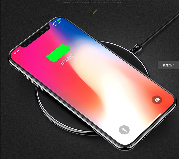 Wireless Charger Charging Pad for iPhone 8 / 8 Plus, iPhone X Ga