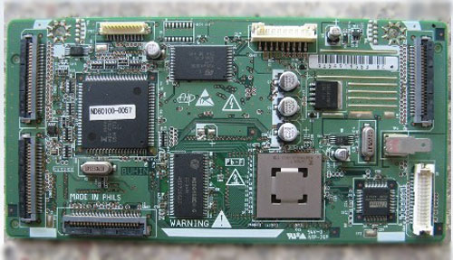 HITACHI LOGIC BOARD ND60100-0057 FPF29RLGC0057