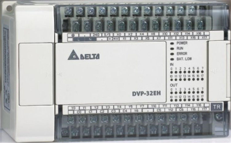 DVP32EH00T3-L Delta EH2/EH3 Series PLC DI 16 DO 16 Transistor output 100