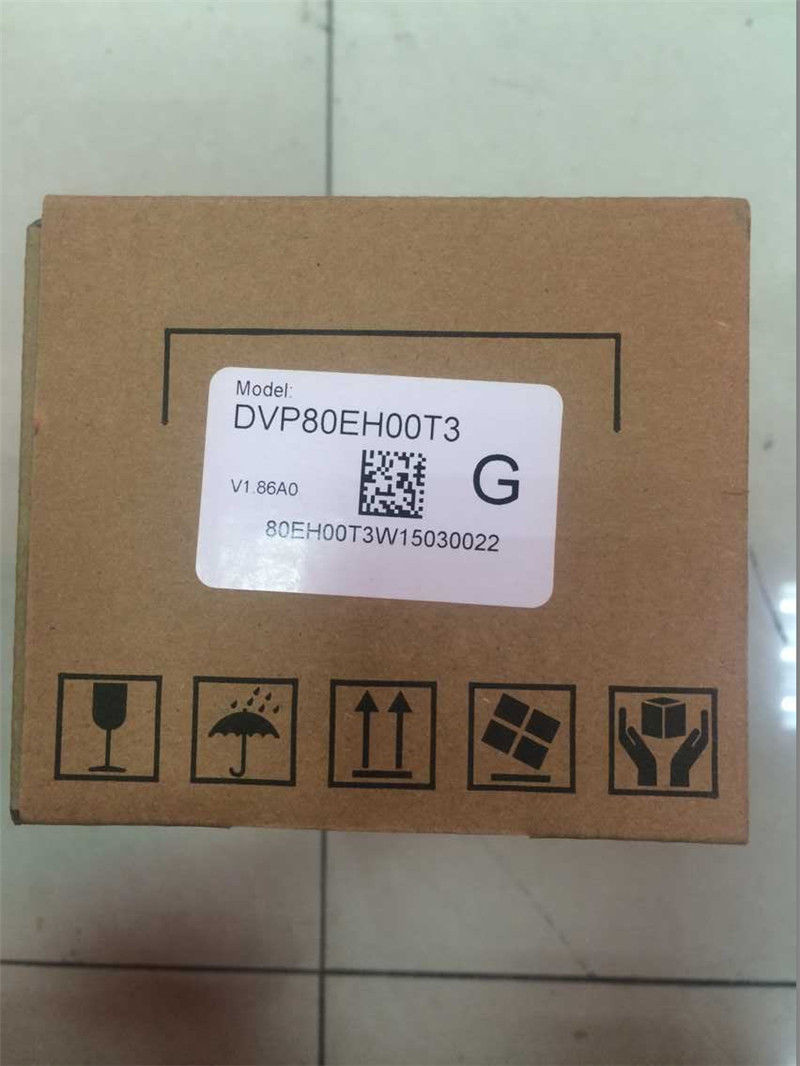 DVP80EH00T3 Delta EH2/EH3 Series PLC DI 40 DO 40 Transistor output 100-2