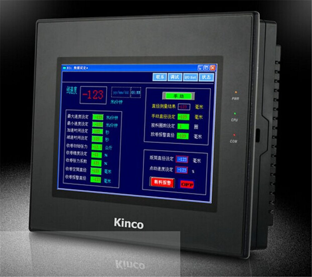 MT4522TE Kinco HMI Touch Screen 10.1 inch 800*480 Ethernet with program