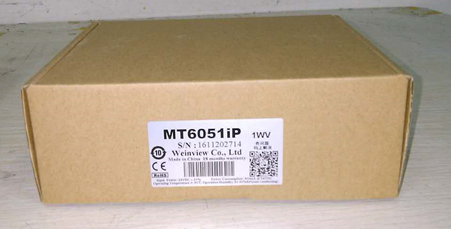 MT6051IP weinview 4.3inch HMI touch screen new in box replace MT6050iP