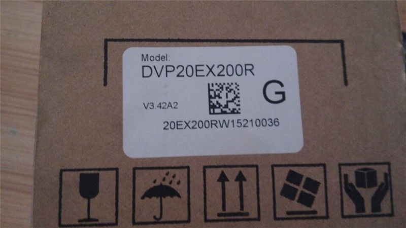 DVP20EX200R Delta EX2 Series Analog PLC DI8/AI4 DO6 Relay/AO2 100-240VAC
