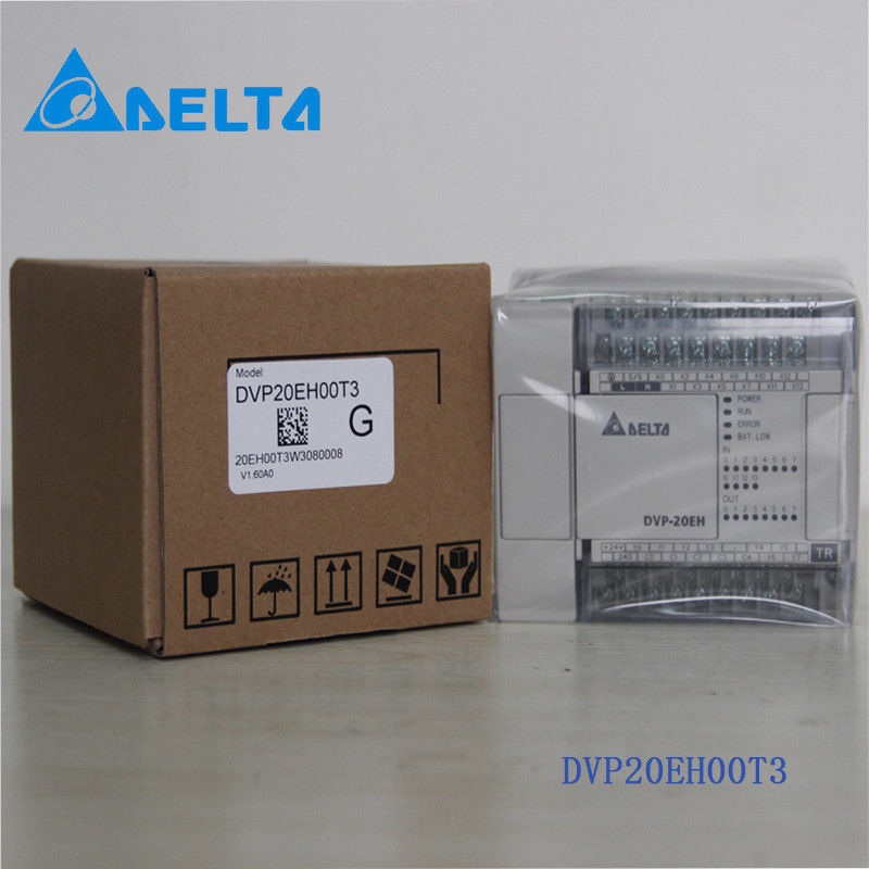 DVP20EH00T3 Delta EH2/EH3 Series PLC DI 12 DO 8 Transistor output 100-24