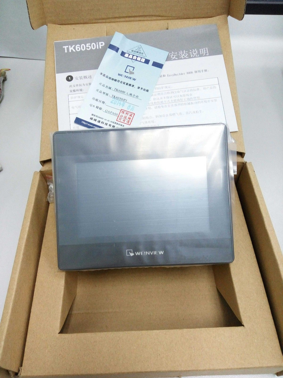 TK6050ip Weinview 4.3inch HMI Touch Screen 480*272 new in box