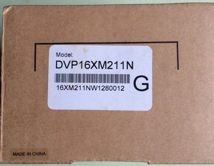 DVP16XM211N Delta ES2/EX2 Series Digital Module DI 16 24VDC new in box