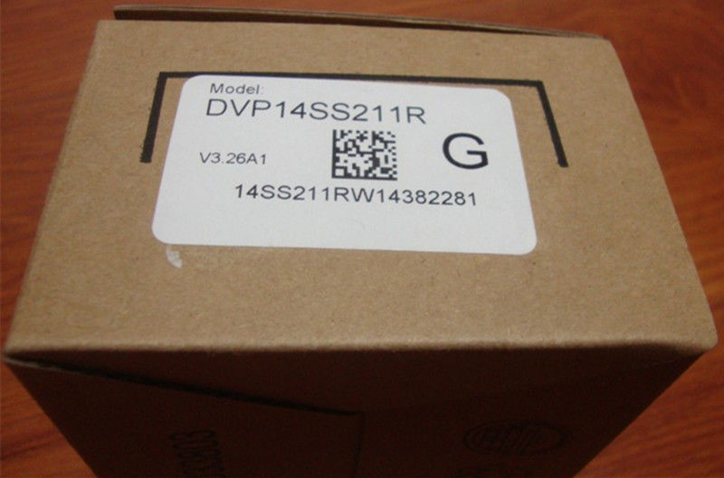 DVP14SS211R Delta SS2 Series Standard PLC DI 8 DO 6 Relay 24VDC new in b