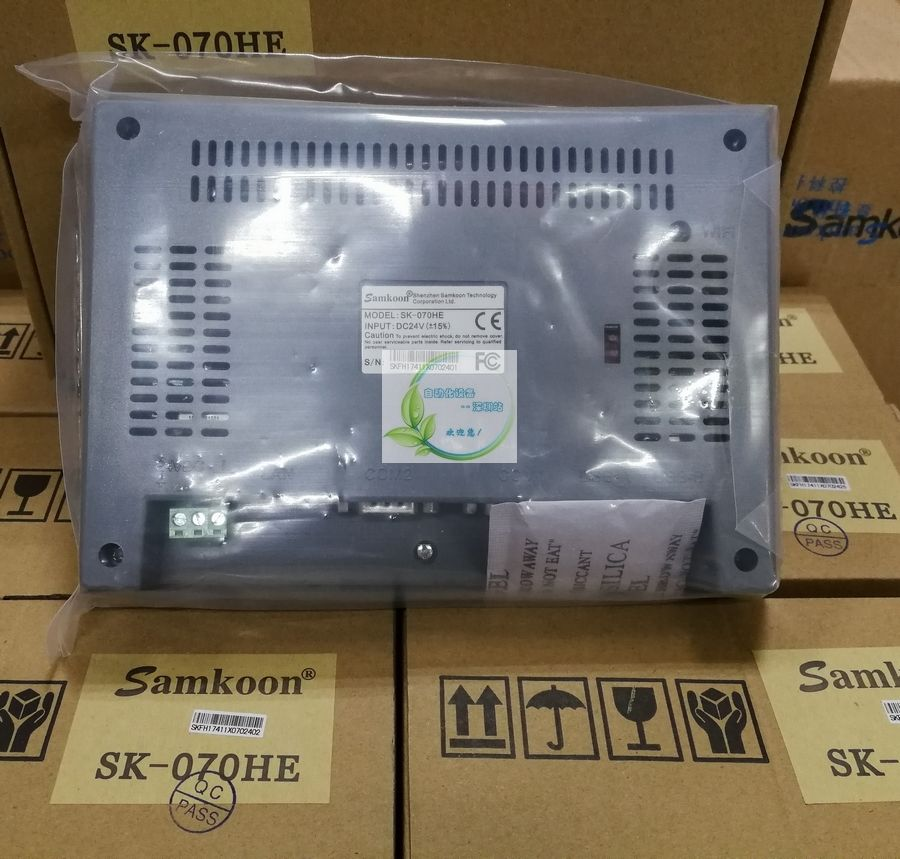 SK-070HE Samkoon 7 inch HMI Touch Screen 800*480 new in box replace SK-0