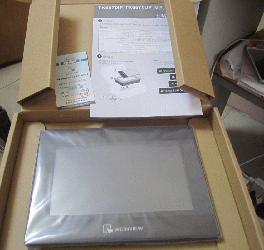 TK6071iP Weinview HMI Touch Screen 7inch 800*480 new in box replace old