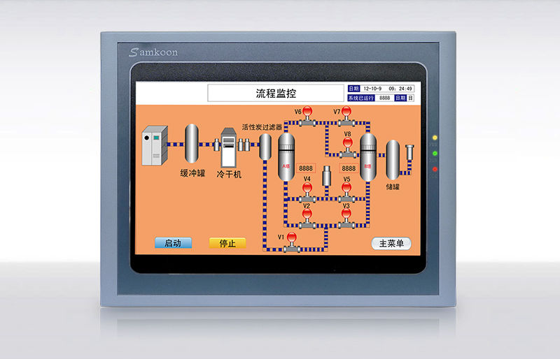 SA-102H Samkoon HMI Touch Screen 10.2 inch 1024x600 replace SA-10.2A