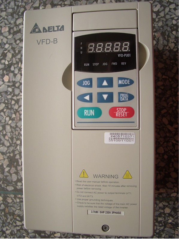 VFD037B23A DELTA VFD-B Inverter Frequency converter 3.7kw 5HP 3 PHASE 22