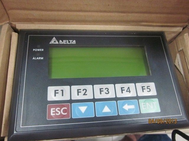 TP04G-AL2 Delta Text Panel HMI STN LCD single color 4 Lines Display mode