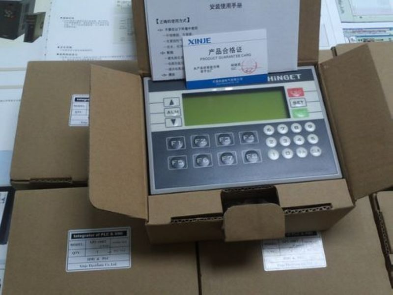 XP3-18RT XINJE Integrator of PLC&HMI OP330 operate panel XC3 10DI/8D