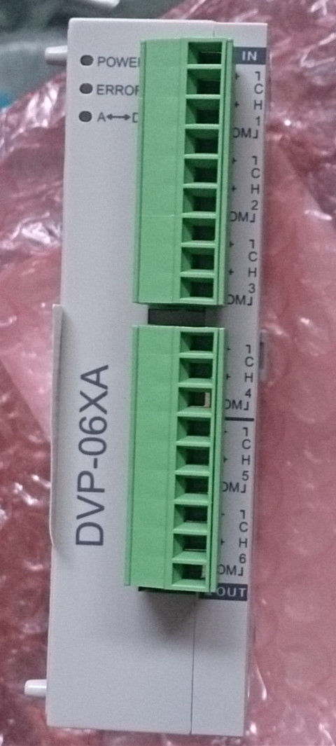 DVP06XA-S Delta S Series PLC Analog I/O Module AI4 AO2 new in box