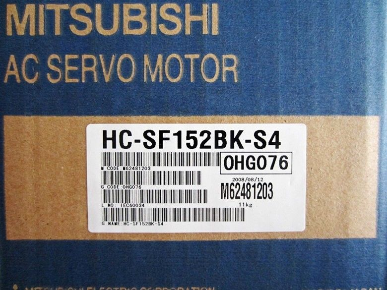 100% NEW Mitsubishi Servo Motor HC-SF152BK-S4 in box HCSF152BKS4