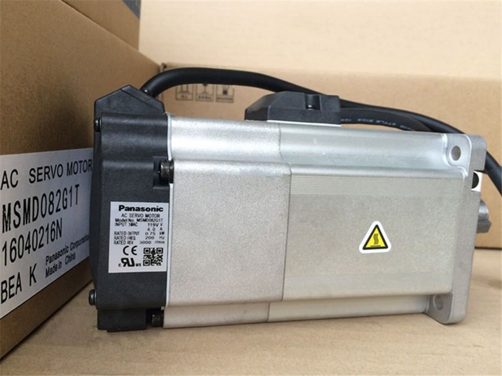 100% NEW PANASONIC AC Servo Motor MSMD082G1T in box