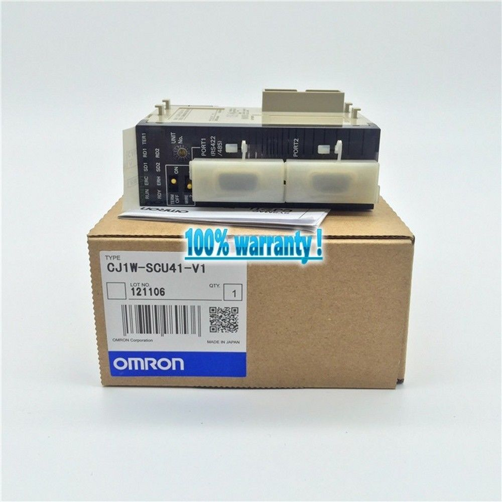 100% NEW OMRON PLC CJ1W-SCU41-V1 IN BOX CJ1W-SCU41V1