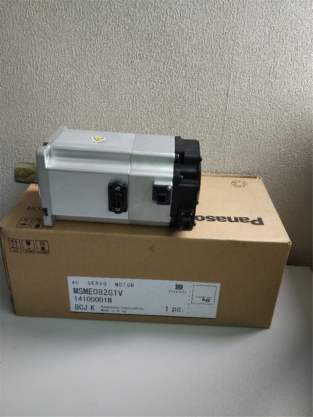100% NEW PANASONIC AC servo motor MSME082G1V in box