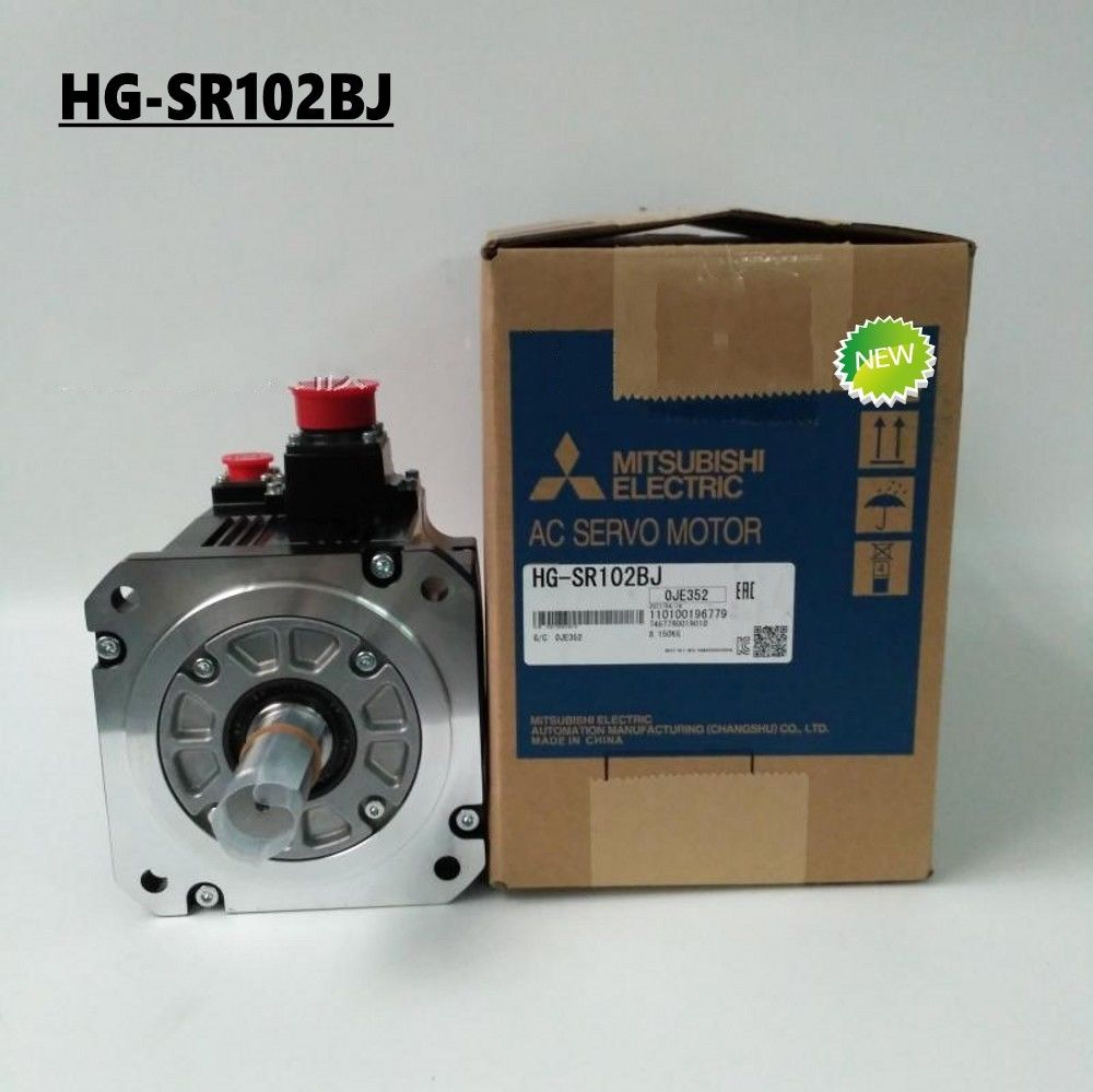 100% NEW Mitsubishi SERVO MOTOR HG-SR102BJ in box HGSR102BJ